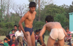 Indian mud wrestling 2