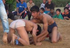 Indian mud wrestling 4