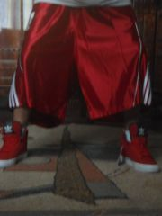bball red shorts by adidas2