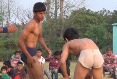 Indian mud wrestling 1