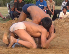 Indian mud wrestling 3