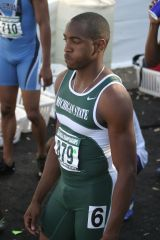 Michigan State sprinter